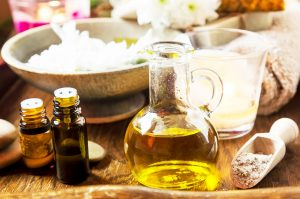 Image of Natural Homemade Skin Care Products.
